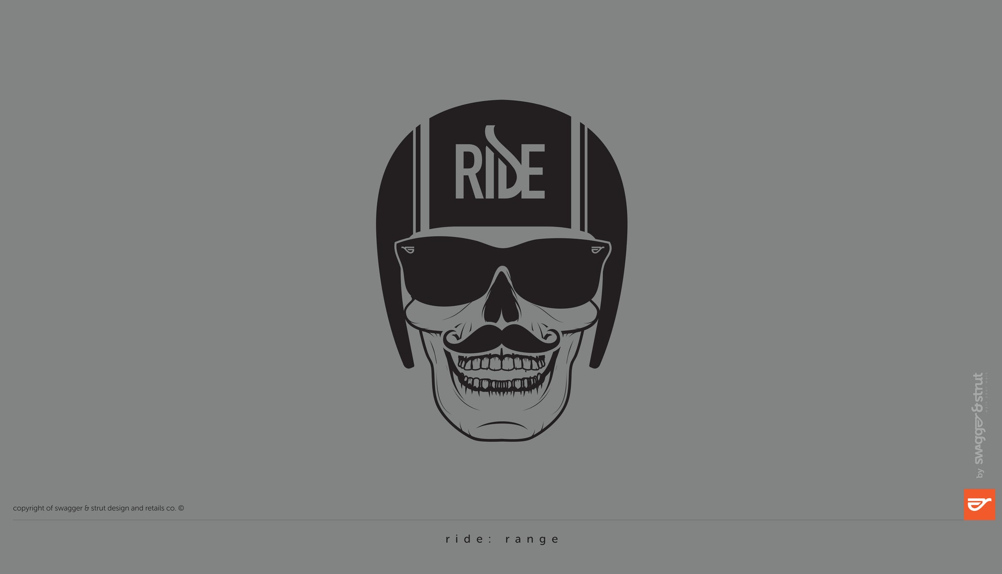 swagger-and-strut-ride-logo-range-skull