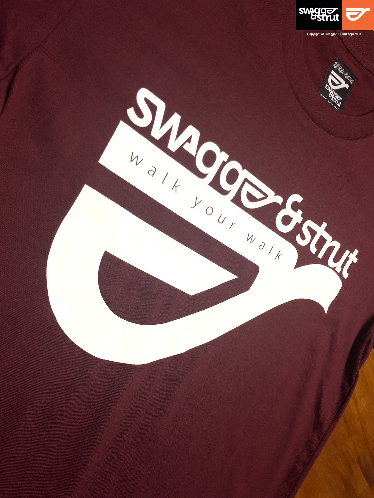 Burgundy - Female Regular Fit Classic T-Shirt