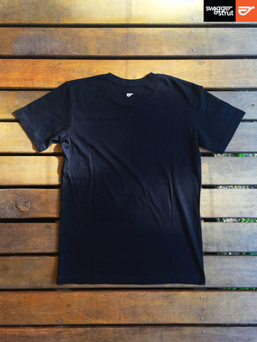Black - Male Regular Fit T-Shirt