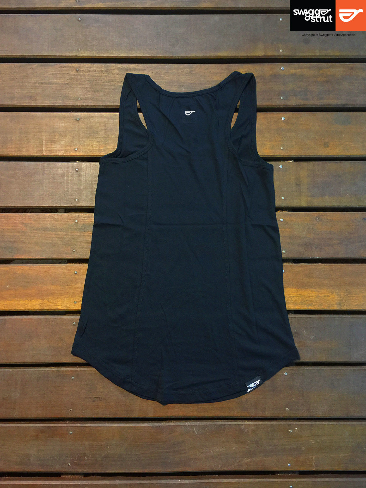 Black - Female Racerback Singlet