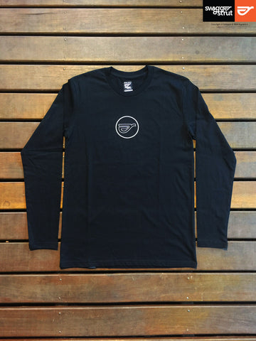 Black - Male Ink Long Sleeve Tee