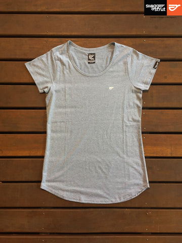 Asphalt Marle - Female Regular Fit Classic T-Shirt
