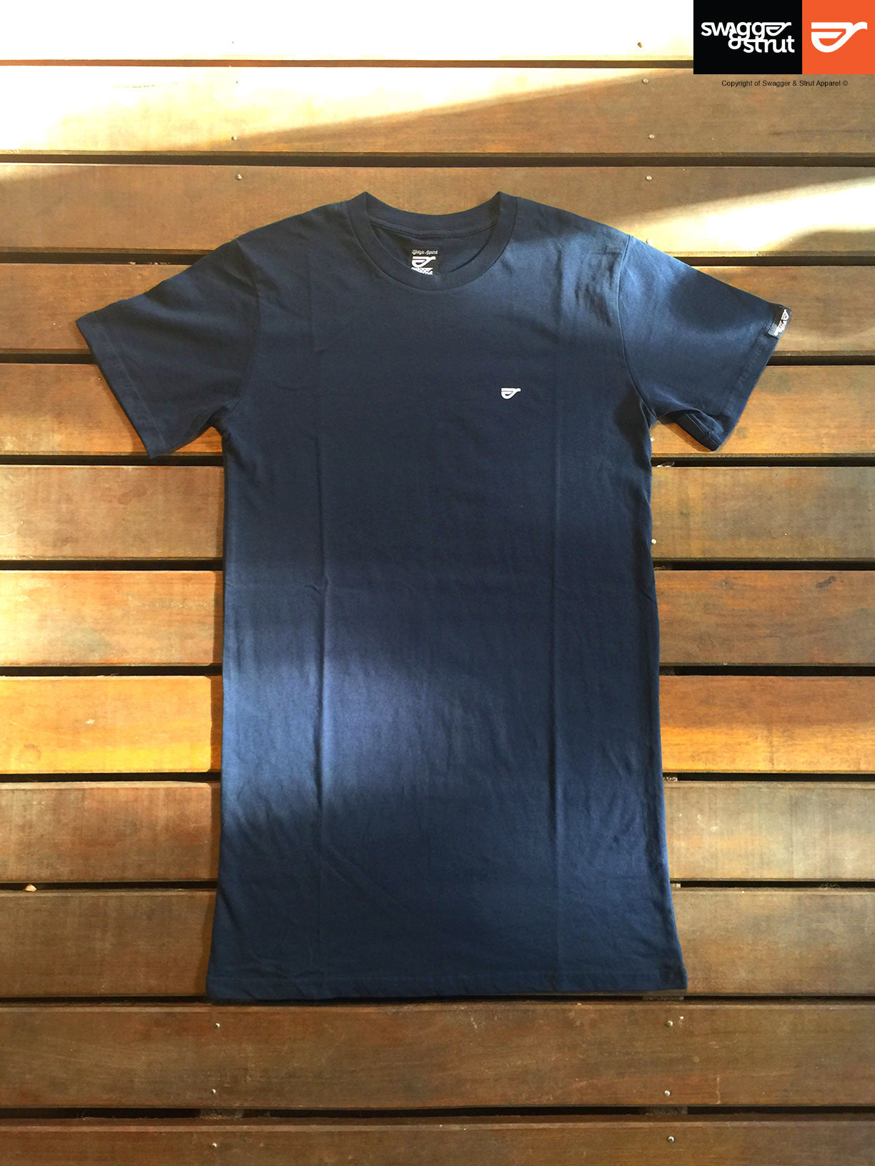 Navy - Male Tall Tee Regular Relaxed Fit