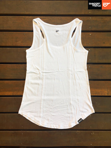 White - Female Racerback Singlet