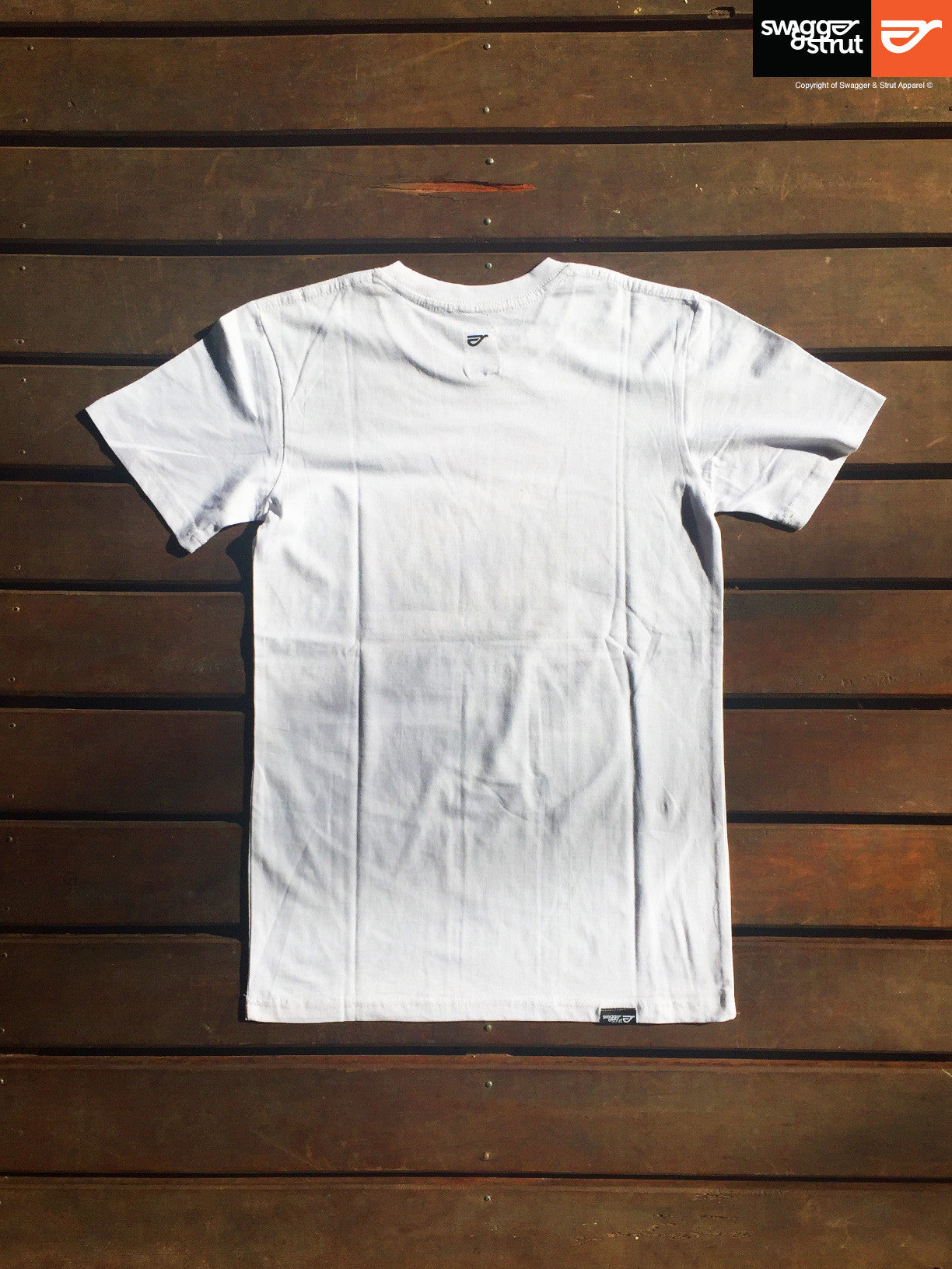 White - Male Regular Fit Classic T-Shirt