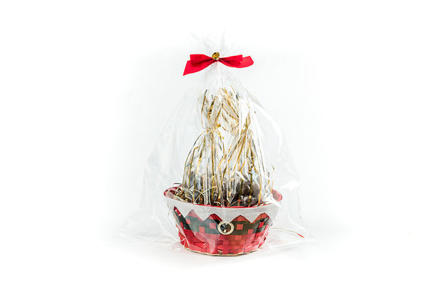 Chocolate Charm Gift Basket - Milk Almond Chocolates