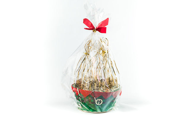 Nourish Gift Basket - Assortment of Nuts and Raisins