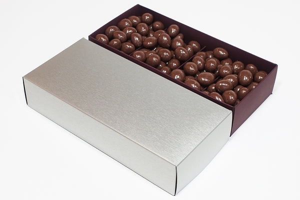 Silver Large Customisable with Almond Milk Chocolates
