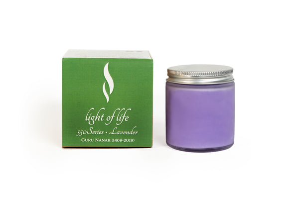 550 Minutes Soy Wax Candle -Lavender