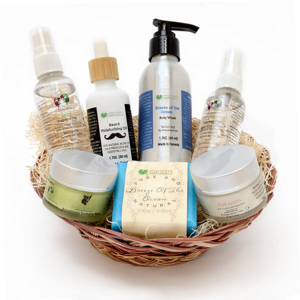 All About Him -Gift Basket