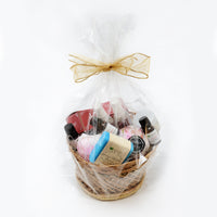 Natural Indulgence Basket - Holiday Gift Basket With FREE SHIPPING