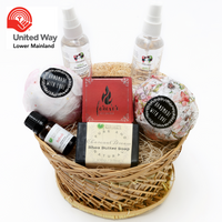 Natural Aromatherapy Gift Basket in support of United Way FREE TWO DAY SHIPPING*