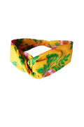 Headband Yellow Dogwood Rose
