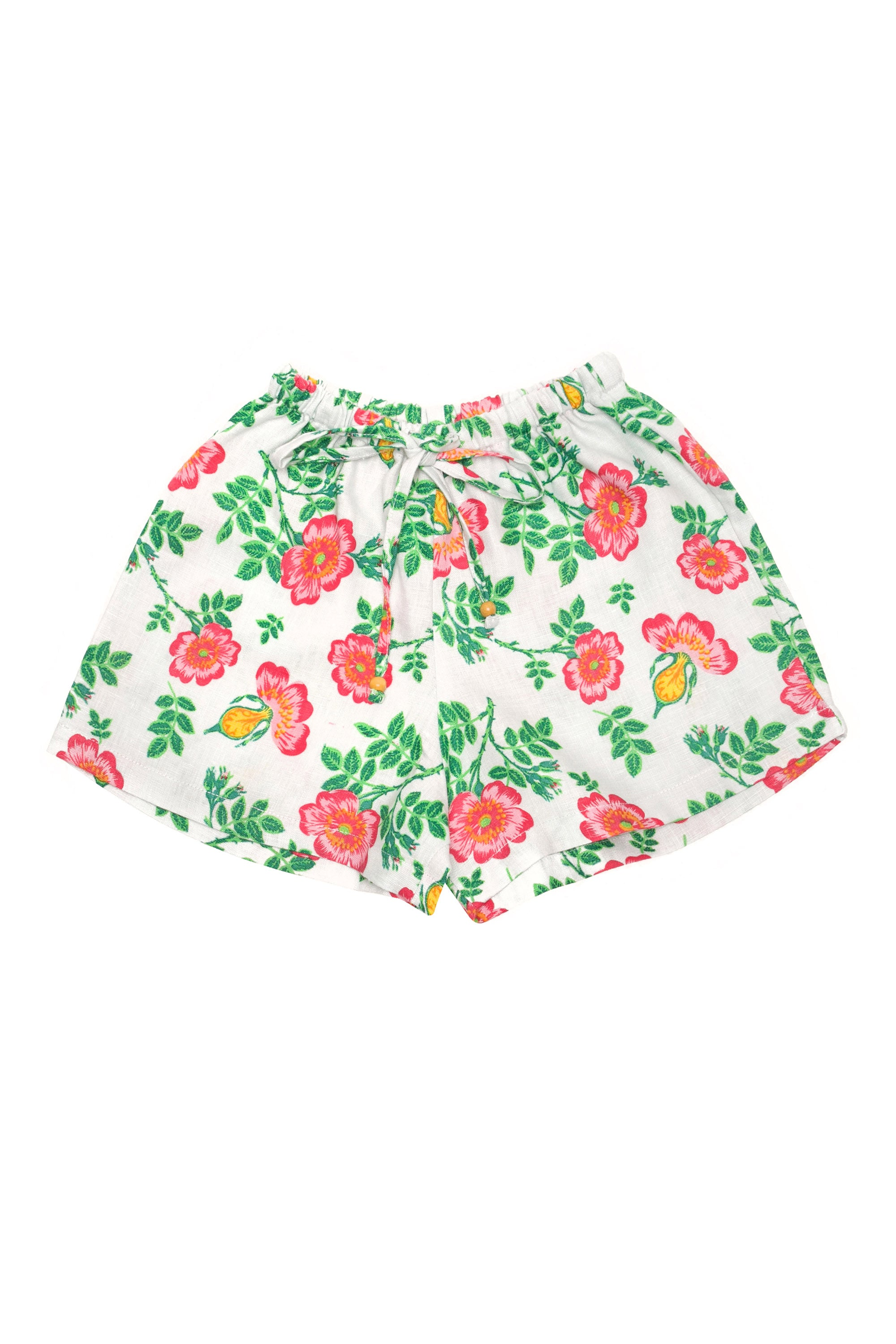 Briar Shorts Stone Dogwood Rose