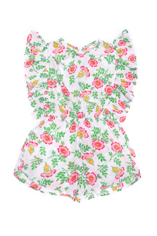 Delphine Playsuit Stone Dogwood Rose (Tween/Teen)