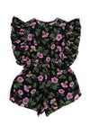 Delphine Playsuit Midnight Dogwood Rose (TWEEN/TEEN)