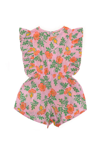 Delphine Playsuit Sorbet Dogwood Rose
