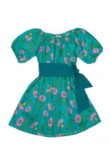 Hera Dress  Jade Dogwood Rose