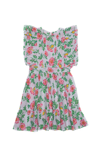 Juno Dress Stone Dogwood Rose