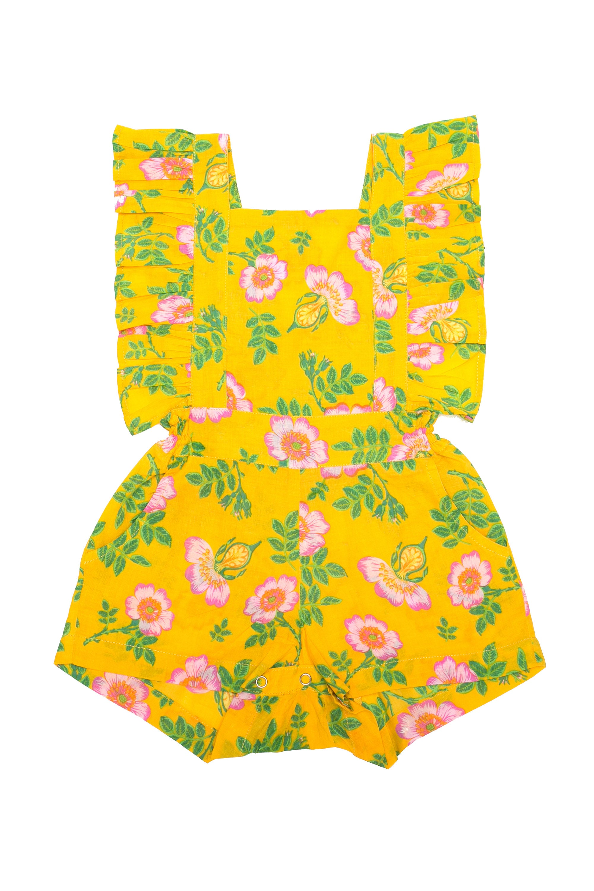 Kallisto Sunsuit Yellow Dogwood Rose