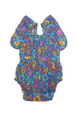 Pipi Bloomer Azure Meadow, Smocking