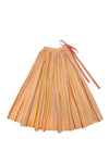 Cosmos Maxi Skirt Sunshine Stripe