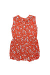 Cinnamon Sunsuit Coral Whisper