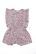 Delphine Playsuit Hibiscus Antique