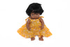 Doll - April Dress Yellow Whisper