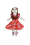 Cloth Doll Clementine with Dacron Filling