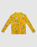 Rasher Vest Top Yellow Dogwood Rose