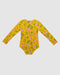 One Pc  Rash vest Yellow Dogwood Rose