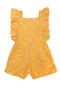 Tulip Playsuit Yellow Whisper