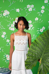 lilac dress lace patchwork (teen)