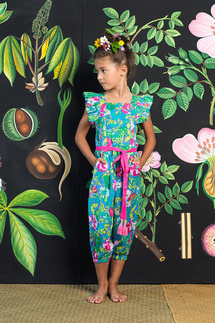 wilde jumpsuit sea anemone flower