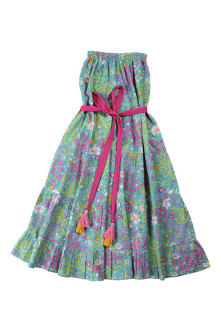 rose dress paris gypsy aqua, teen