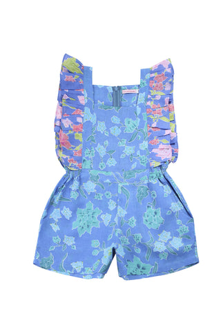 cinnamon sunsuit batik rose