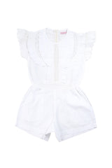 isabel playsuit white broiderie