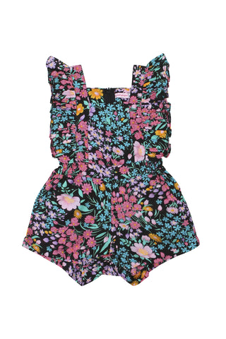petal sunsuit Purple Silk - online exclusive