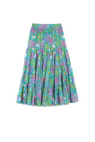 Margaux Skirt Paris Gypsy Aqua (mama)