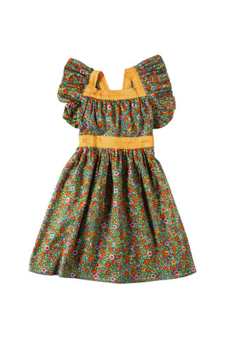 Inca Dress Gypsy Flower