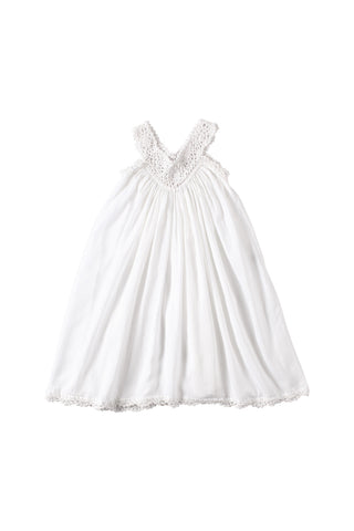 Indah Dress White Crinkle