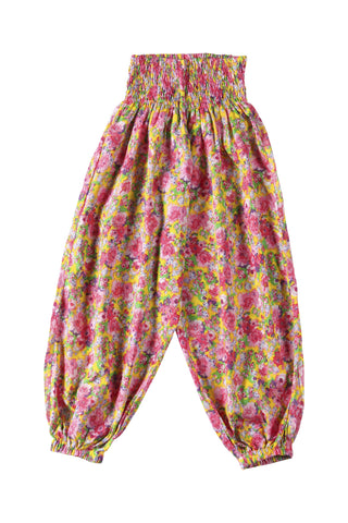 Modotti Pant Mexican Flower Pink