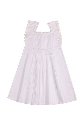 Clove Dress White