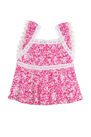 Clove Blouse Pink Summer Dance
