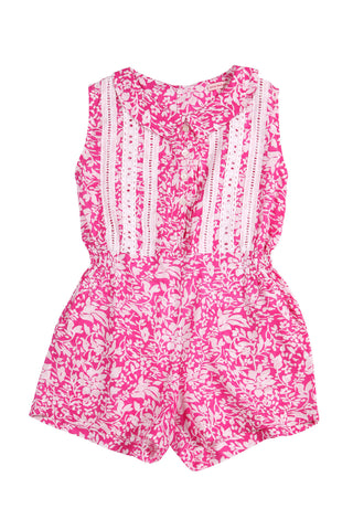 Cinnamon Playsuit Pink Summer Dance