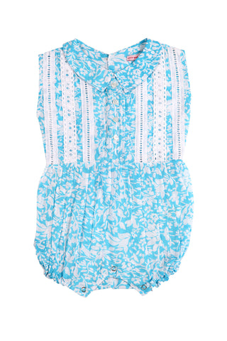 Cinnamon Sunsuit Aqua Summer Dance