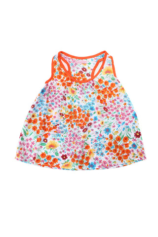 Bambi Mini Blue Dahlia Patch-Teen