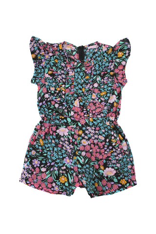 peony playsuit paris gypsy black