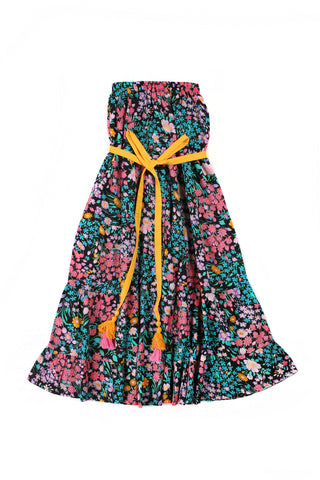 rose dress paris gypsy black (Stealing Beauty)